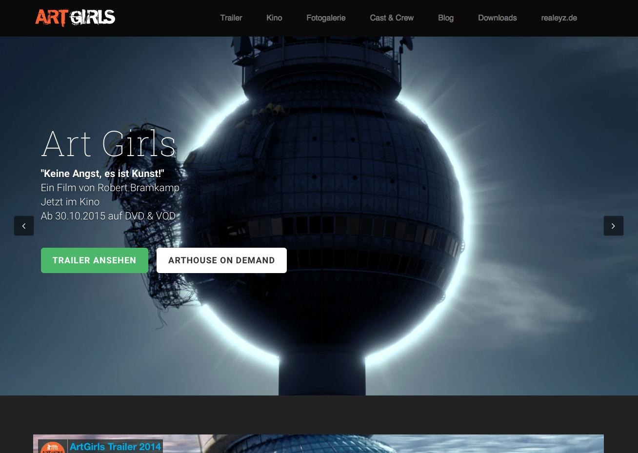homepage von EYZ Media